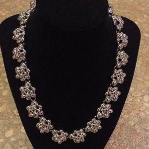 Vintage Anne Klein statement choker necklace